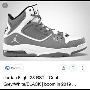 Jordan Flight 23 RST Sz 7Y Black/Gray/White